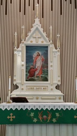 Alter Painting and Altar 2017
